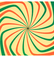 Abstract Colorful Roundabout vector image
