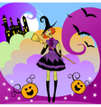 witch party vector image vector image