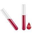 blood test vector image