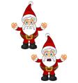 Santa Claus Unhappy vector image