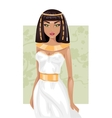 Egyptian woman vector image