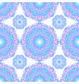 seamless pattern of abstract mandalas vector image