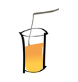 A drink vector image