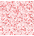Template Background Valentines day Love icon vector image