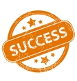 Success grunge icon vector image