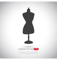 Mannequin icon Flat design vector image