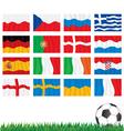 Euro 2012 Flags vector image