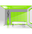 green room vector image