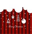 merry christmascloud123 vector image