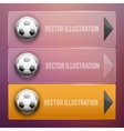 Transparent Dropdown sport menu vector image