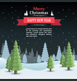 mary christmas cover art happy new year vector image