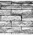 Background Distressed Brick vector image