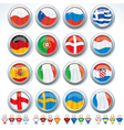Euro 2012 Icons vector image vector image