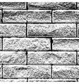 Background Distressed Brick vector image