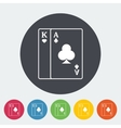 Play card icon vector image vector image