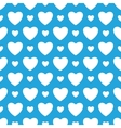 Oktoberfest blue background with white hearts vector image