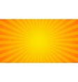 Bright rays background vector image