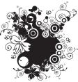 nature floral design vector image vector image