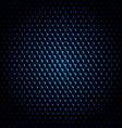 techno hexagon circle texture background vector image