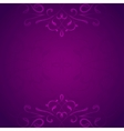 Retro styled violet background vector image