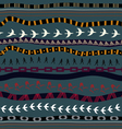 Tribal seamless texture vector image