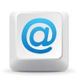 E-mail Keyboard Key vector image