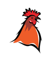 cockerel vector image