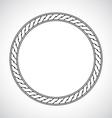 Ornamental circular simple classical frame vector image