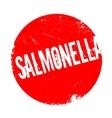 Salmonella rubber stamp vector image