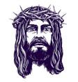 jesus christ the son of god symbol of vector image