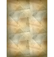 Vertical template of brown background vector image