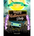 Halloween poster for holiday EPS 10 vector image vector image