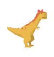 cartoon dinosaur character jurassic period animal vector image