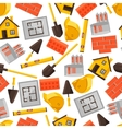 Industrial seamless pattern with housing vector image