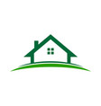 simple property land vector image