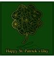 Happy StPatrick Day vector image