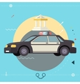 Police Car Icon Symbo Legal Execution of Justice vector image vector image