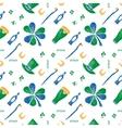 Saint Patrick seamless pattern vector image