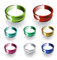 3d Ring vector image vector image
