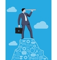 Searching new opportunities business concept vector image