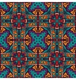 Abstract festive colorful ethnic pattern vector image
