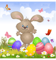 Aester rabbit4 vector image