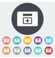 First aid kits icon vector image