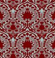 seamless floral pattern vintage background vector image
