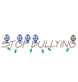 STOP BULLYING vector image vector image