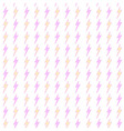 lightning bolt seamless pattern vector image vector image