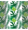 Tropic leaves pattern vector image