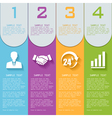 elements for infographics vector image vector image