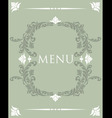 menu33 vector image