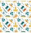 Ireland seamless pattern vector image